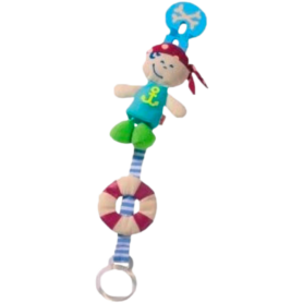 Attache Tetine corsaire pirate 3692 Haba