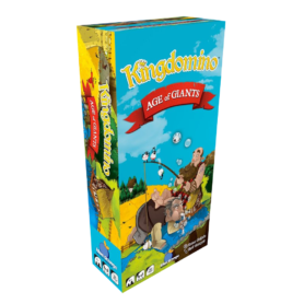 Kingdomino Extension Age of Giants Blue Orange Bruno Cathala