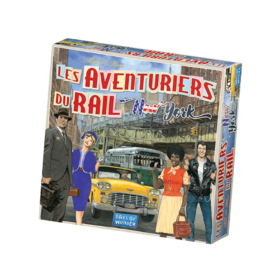 Les aventuriers du rail New-York Days of Wonder