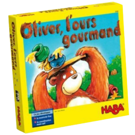 Oliver l ours gourmand Haba