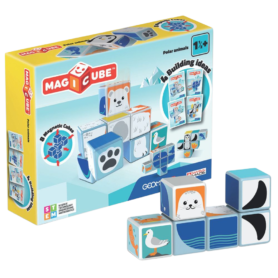 Polar animals Geomag Magicube