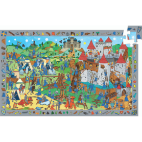 Puzzle chateau fort Djeco