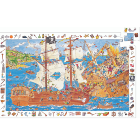 Puzzle les pirates Djeco