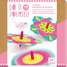 Do it yourself Toupie fleur Djeco