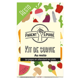 Parent Epuise Kit De Survie Resto