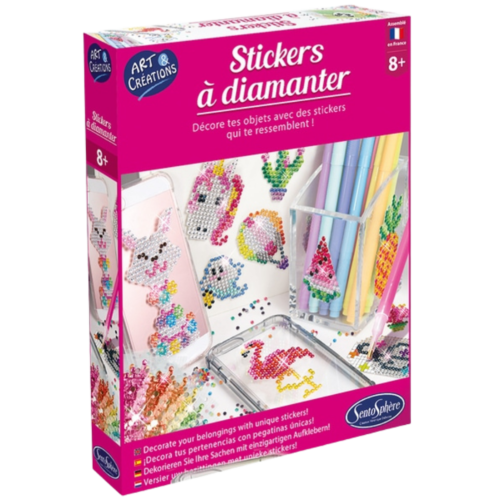 Stickers à diamanter sentosphère