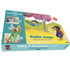 Petite Taupe mes 3 puzzles